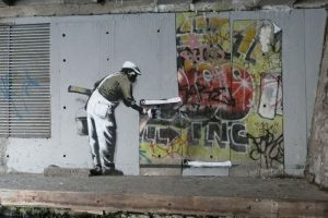 Banksy y Robbo Spray War