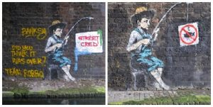 banksy fish man london robbo