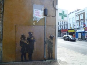 banksy piece team robbo