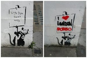 banksy rat robbo team