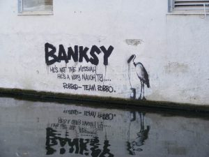 banksy team robbo graffiti